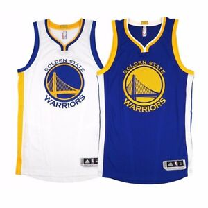 best sneakers 7d8a2 c7519 Details about 2016-17 Golden State Warriors Adidas Authentic On-Court  Climacool Blank Jersey