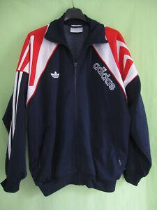 Détails sur Veste Adidas 90'S Marine France Trefoil Vintage Jacket Tracksuit 168 S