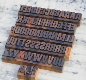 A-Z Alphabet Buchstaben 36 mm Plakatlettern Buchstaben Lettern Stempel stamp.