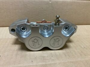 Performance-Machine-4-Piston-Rear-Caliper-125x4RSPH-Polished-For-Harley-Davidson