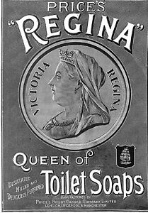 Queen-Victoria-Advert-1897-Royalty-Soap-advert-Price-039-s-Regina-Victoria-Queen-Art
