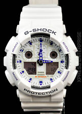 NEW WITH TAGS Casio Gshock X-Large Ana-Digi GA100A-7A WHITE Watch