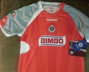 114e9e90774 Image is loading Reebok-Chivas-Guadalajara-Mexico-Boys-Authentic-Soccer -Futbol-