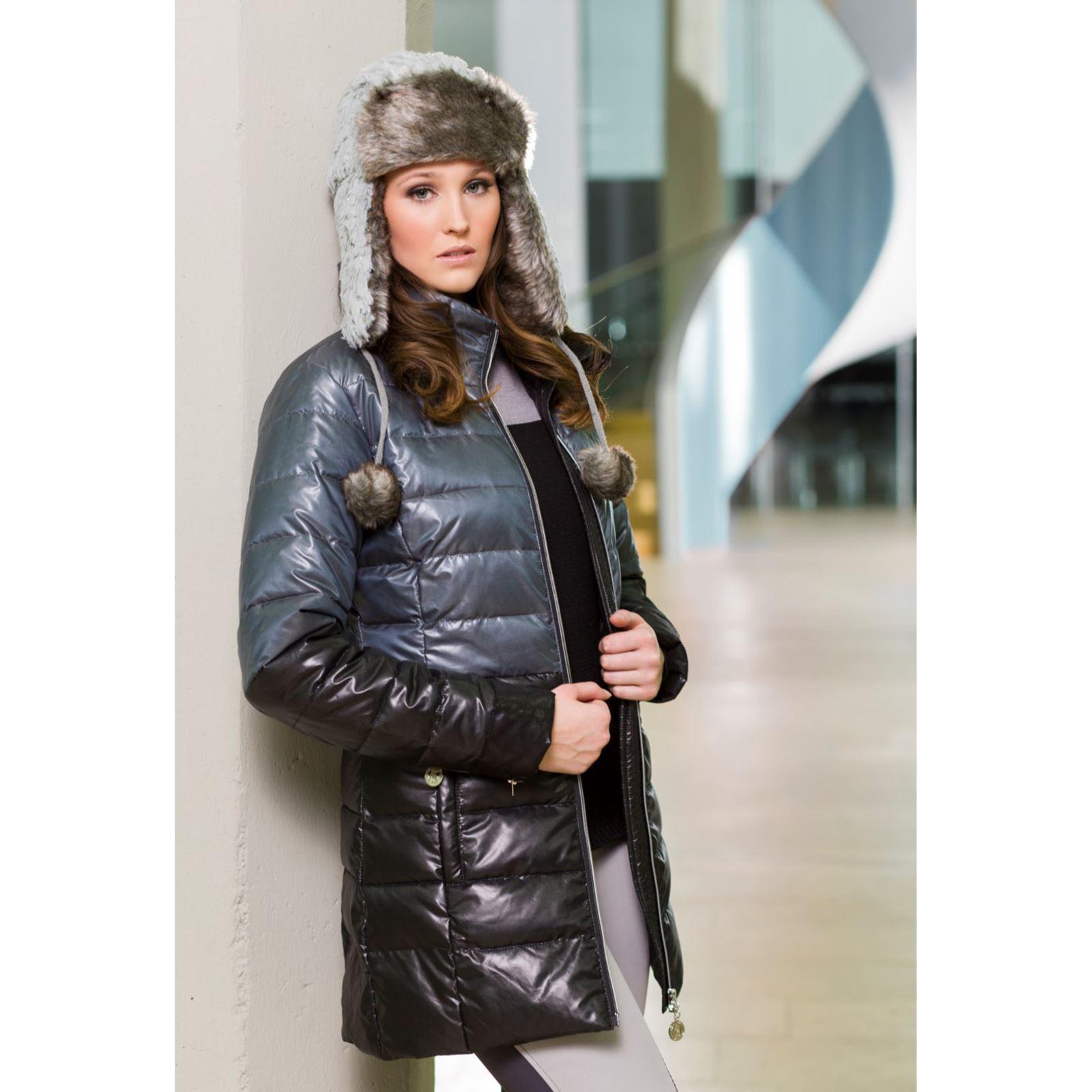 Cavallino Marino Ladies Arctic Nylon Windproof Tailored Horse Rider Quilted Coat