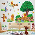 Tree Winnie the Pooh Nursery Room Wall Decal Removable Decor Stickers Kids Baby