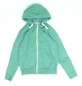 Burton-Green-Cotton-Blend-Mens-Hoodie-Size-S