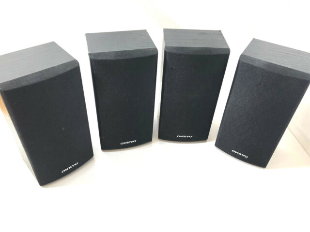 Onkyo Surround Sound Bookshelf Speakers 2 SKB 590 SKR