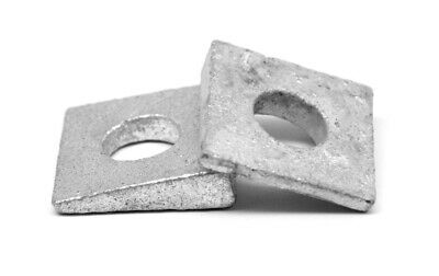 Hot Dip Galvanized 1 1//4 Square Beveled Malleable Washer 70pcs Size: 1-1//4 inch HDG