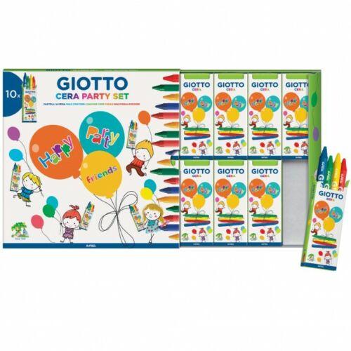 Giotto Cera Party Set 10x4-4 Colori Assortiti 311000