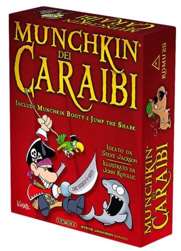 Munchkin dei Caraibi totalmente in italiano