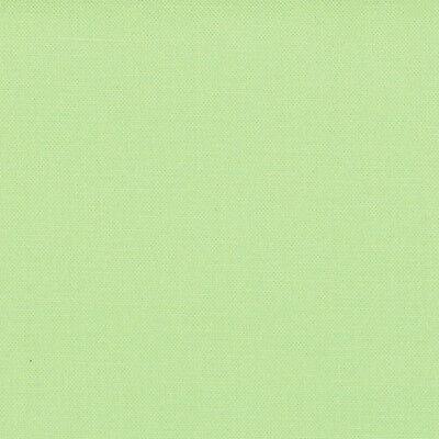Sold Per 1//4 Metre Green Quilting Fabric Moda Fabric Bella Solids Green Tea