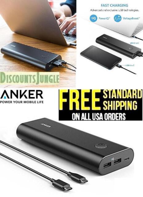 Anker A1371 PowerCore + 20100mAh USB-C Premium High-Capacity Portable Charger