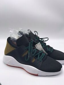 carencia Decremento ellos  NWT Adidas Pro Vision 11222 Black White Gold Basketball Tennis Shoes Size  14 | eBay