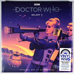 Doctor-Who-Galaxy-4-2019-SEALED-2-LP-Vinyl-Soundtrack-Limited-RSD