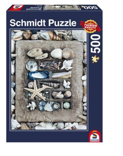 Schmidt Puzzle 500 Teile StrandgutFotopuzzlePuzzle ab 12 Jahre