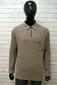 Maglione-Uomo-ARMATA-DI-MARE-Taglia-L-Felpa-Pullover-Cardigan-Sweater-Man-Cotone