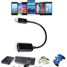 USB sx OTG AdapterCable sx For Hipstreet Aurora 2 HS-7DTB6 HS-7DTB14 Tablet