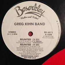 """Greg Kihn Band-Reunited-Promo 12""""-Beserkley-4971-NM"""