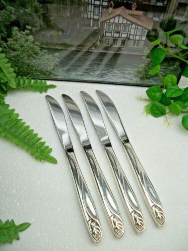 4    International  Deep Silver   ANNIVERSARY ROSE   Dinner Knives    1962