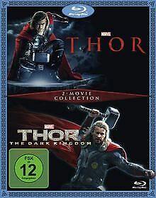 Thor-Thor-The-Dark-Kingdom-Blu-ray-DVD-Zustand-sehr-gut
