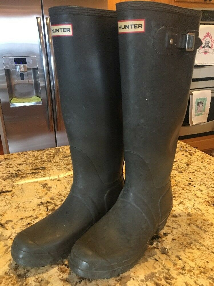 Hunter Women's Rain Boots Size 8M W23499