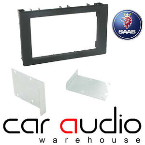 Connects2 CT24SA10 Saab 9-3 2005 On Car Stereo Double Din Fascia Facia Panel