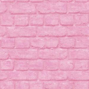 Portefeuille-Brique-Papier-Peint-Rouleaux-Rose-Rasch-226805