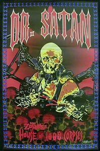 Rob Zombie Movie House Of 1000 Corpses Dr Satan Character Poster