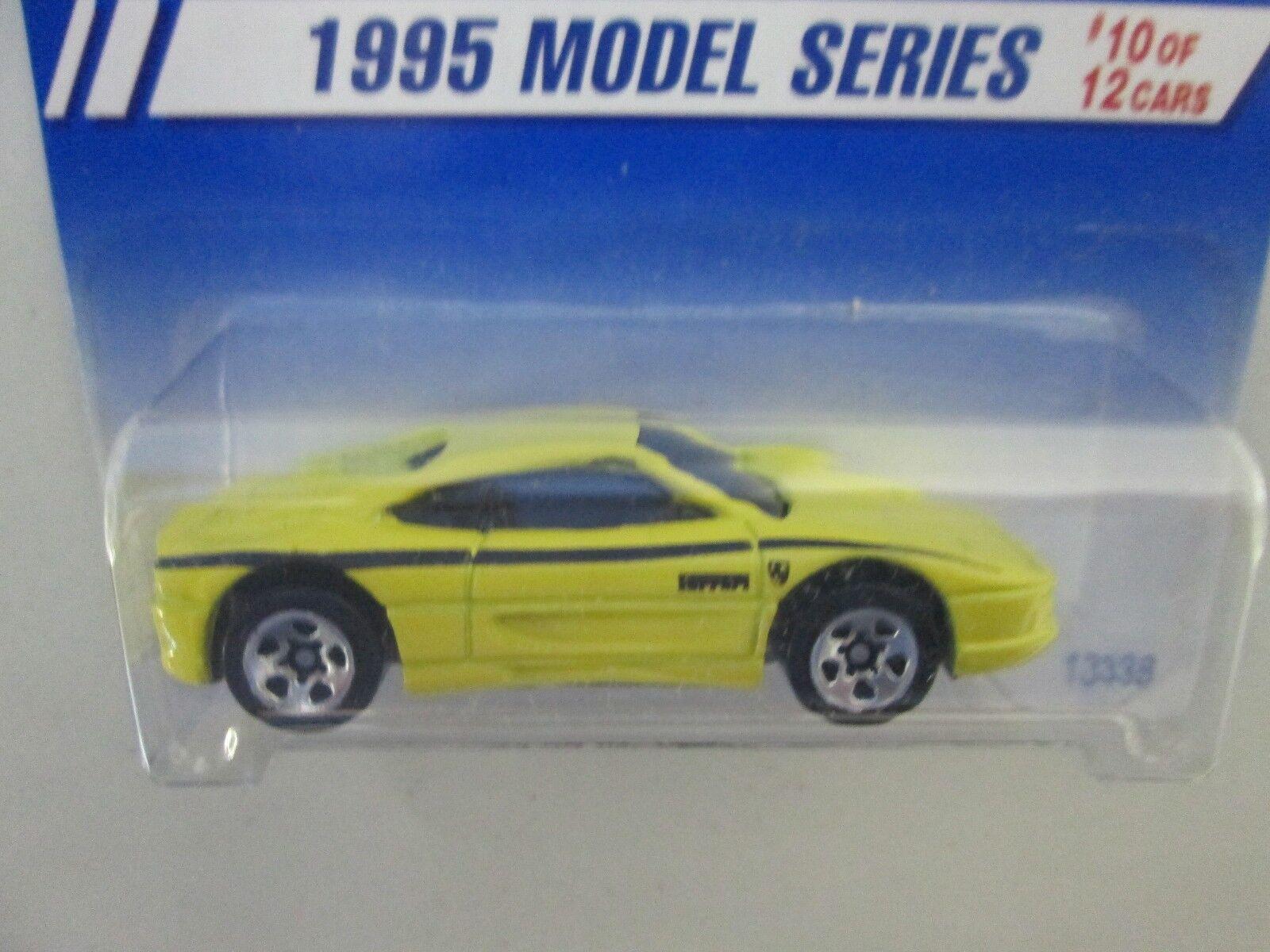 1995 Hot Wheels Wheels Wheels 1995 Modelo Serie Ferrari 355 Ferrari Tampo Raro bd96a0