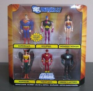 Justice League Eclipsed United Pack 6 Unlimited Dc Universe Mib