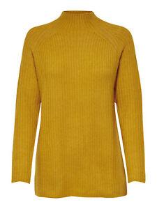 señoras de punto s Las suéter hicieron jersey el Knt de levantarse pie Top Onlorleans L cuello E0qEdBwxgS