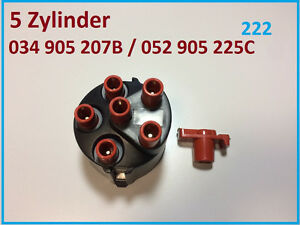 Zuendverteilerkappe-Verteilerfinger-VW-TRANSPORTER-T4-2-5-Syncro