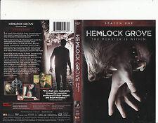 Hemlock Grove-2013/5-TV Series USA-Season One-4 Disc Set-DVD
