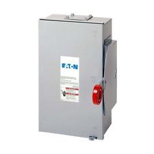 Eaton Double Throw Safety Switch 100 Amp 120240 Volt Non Fused Mountable