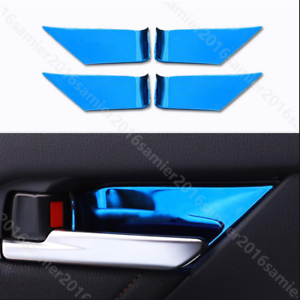 4pcs Stainless steel Interior Handle Bowl Cover fit For toyota Camry 2018-2019