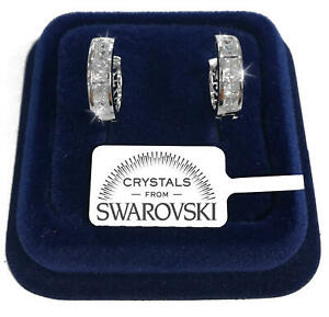 Cerchi-16mm-Orecchini-uomo-donna-pl-oro-bianco-18K-con-cristalli-swarovski-SW42