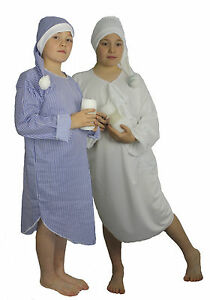 Childrens-Night-Gown-and-Hat-Childs-Christmas-Panto-Fancy-Dress-Book-Week