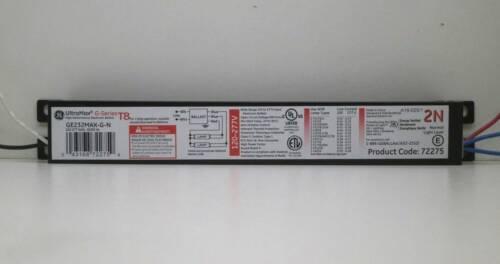 F32T8 Lamps 120-277V 2 GE 72275 GE232MAX-G-N UltraMax Fluorescent Ballast for