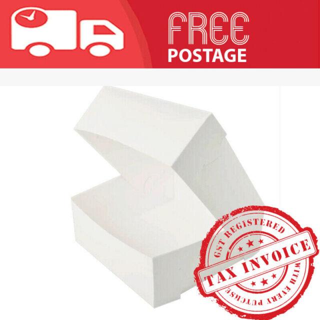 CAKE BOXES Cupcake Box Birthday Party Food Grade Bulk 8,10,12  INCHES/plz choose