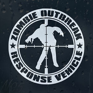 Zombie-Response-Outbreak-Car-Windscreen-Body-Panel-Laptop-Decal-Vinyl-Sticker