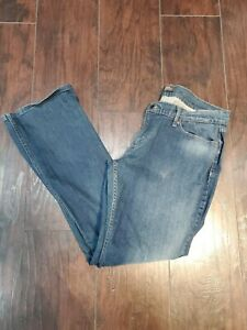Levis-524-Too-Superlow-Skinny-Stretch-Jeans-Womens-Size-32-x-32-15-M-EUC-Levi-039-s