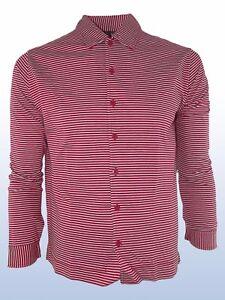 clive-maglia-polo-uomo-righe-rosso-bianco-made-italy-taglia-m-medium
