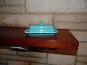 Fiesta-XL-Covered-Butter-Dish-Turquoise-New-Fiestaware