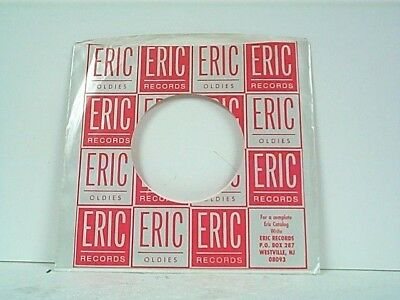 Hot Sale 2-eric Oldies Record Company 45's Sleeves Lot #37-a Storage & Media Accessories
