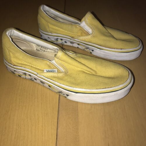 VINTAGE VANS SLIP ONS 1980's shoes men's size 4