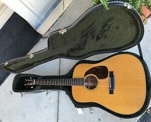 Martin-D-18-Natural-With-Hard-Case-2013-Excellent-Condition