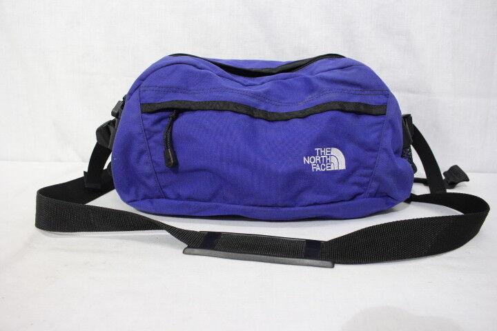 THE NORTH FACE  bluee Lumbar Hiking Bag W Adjustable Straps, LARGE BAG-B81  inexpensive