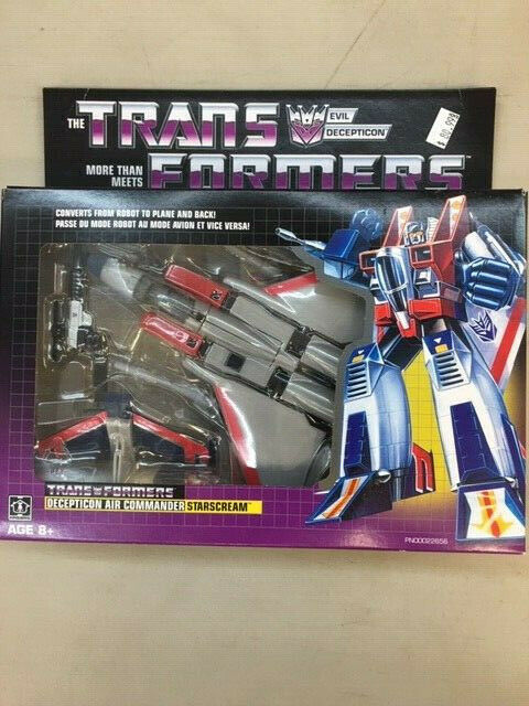 Hasbro Transformers Transformers Transformers Decepticon Air Commander  Starscream Figure (New Sealed) 477f4a