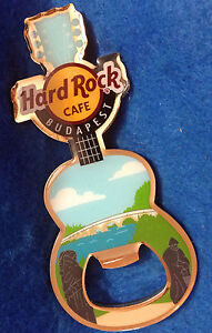 Budapest-Margarest-Pont-R-Danube-Ouvre-Bouteille-Guitare-Aimant-Hard-Rock-Cafe