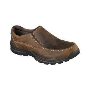 56b530db8cd49 Details about Skechers Men's Relaxed Fit Braver Rayland Slip On